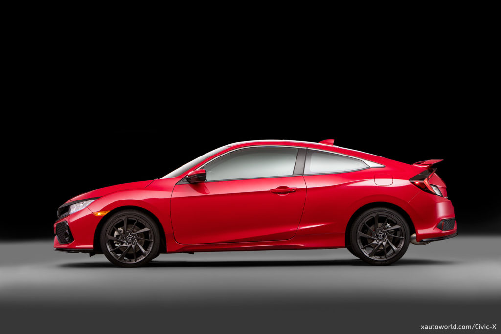 2017 Civic Si - Side View