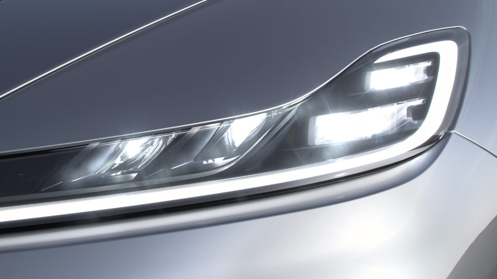 FF 91's Adaptive Headlights