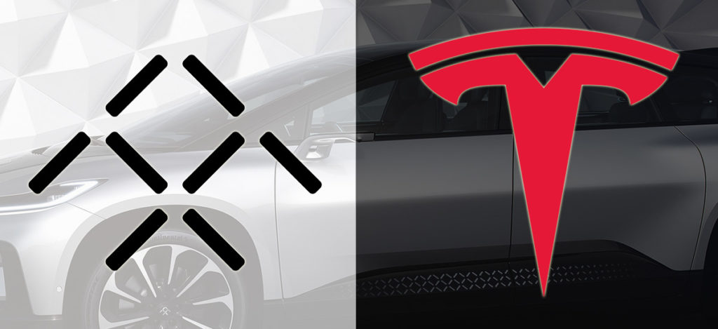 Faraday Future and Tesla partners of the future