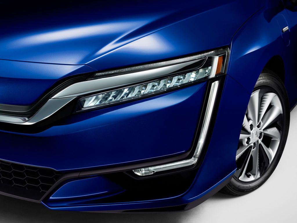 2017 Honda Clarity Electric - Front Closeup - LED Headlamps