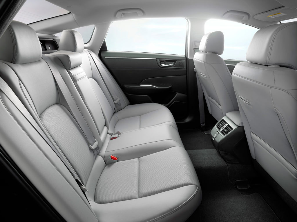 2017 Honda Clarity Electric - Interior Rear Seats
