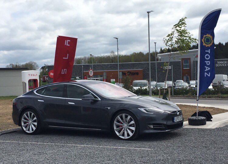 Tesla Supercharger Topaz Ireland