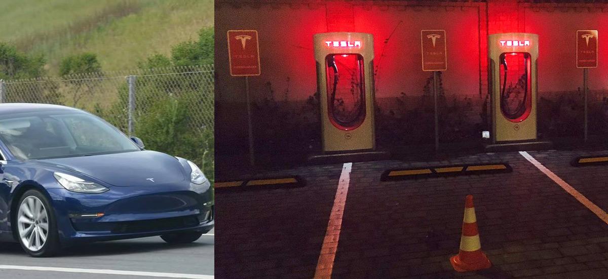 Tesla Supercharger expansions 2017