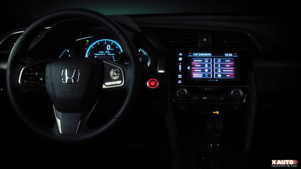 Civic 5 Door Hatchback - Interior