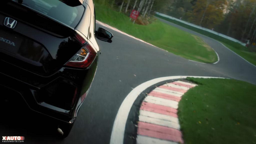 Civic 5 Door Hatchback - Rear View