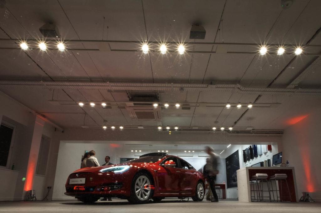 Tesla Store Dublin Ireland