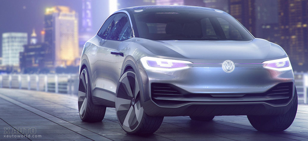 Volkswagen's All Electric I.D. CROZZ Concept