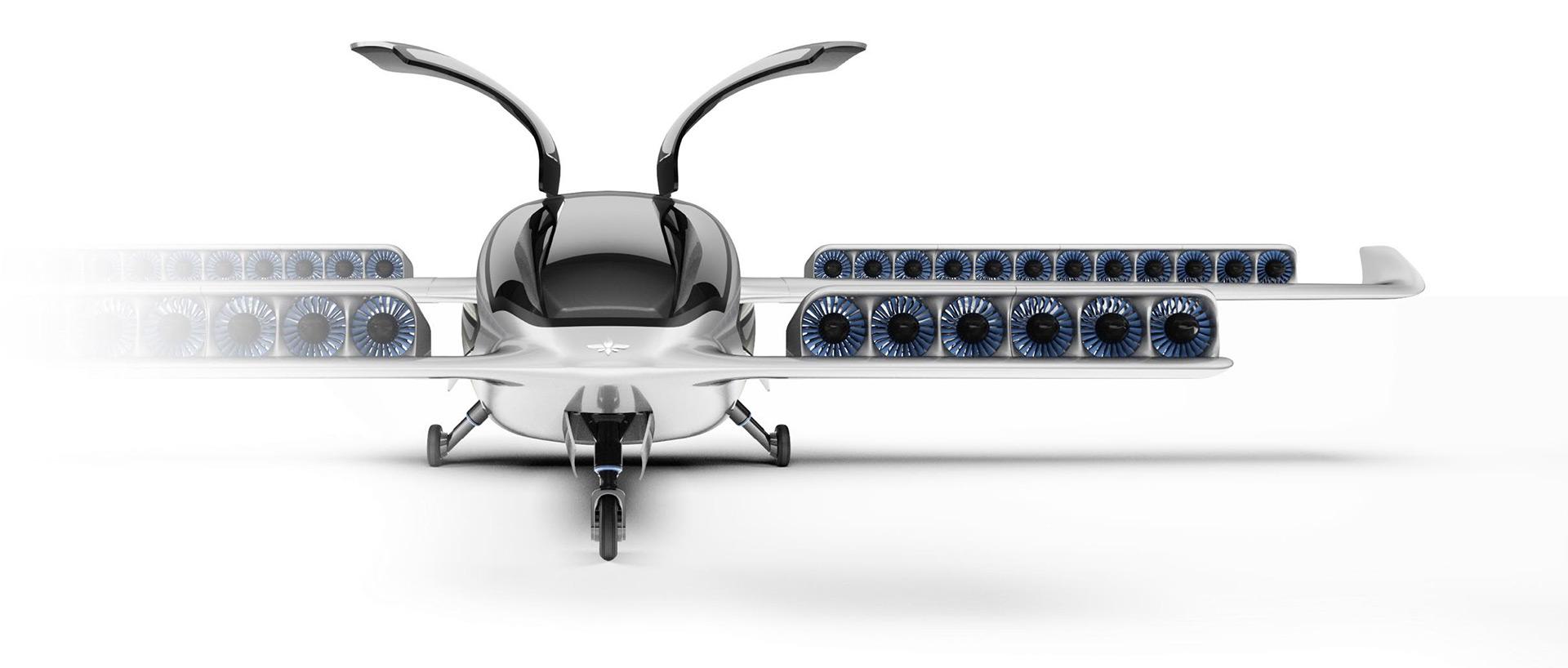 Lilium Electric Jet has gull-wing doors