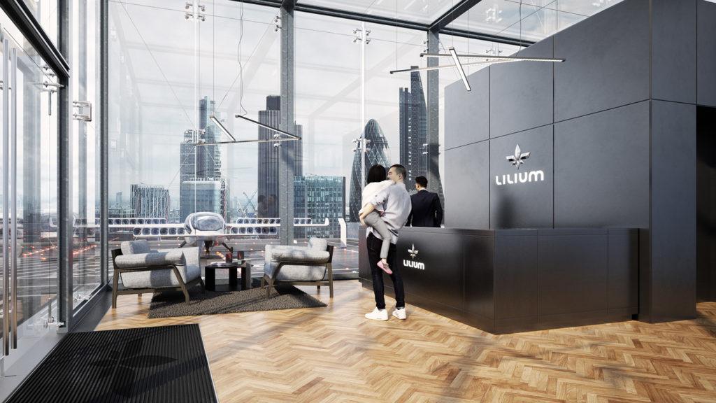 Lilium Electric Jet - Future Concept Airport