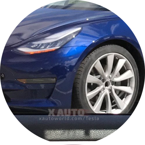 Model 3 Headlights On Production Candidate 2
