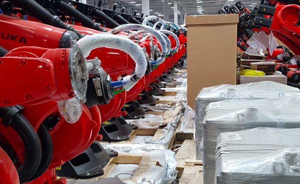 Kuka Robots Model 3 Factory