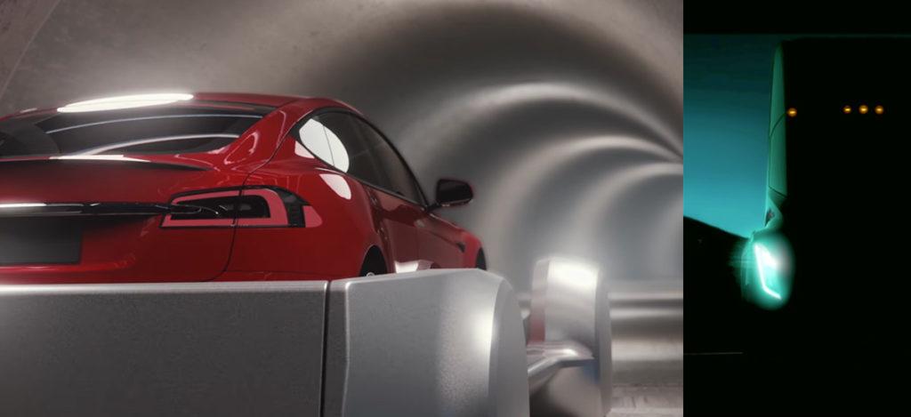 Tesla Semi Truck Teaser & Boring Company Concept