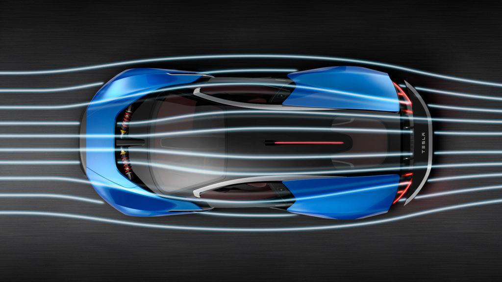 Tesla Model EXP Concept - Active Aerodynamics