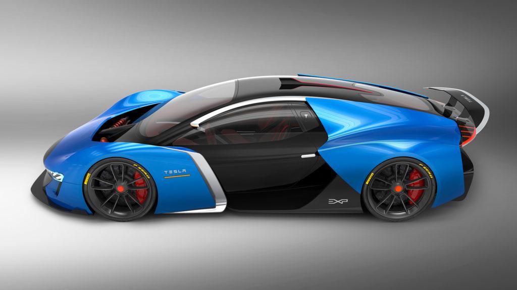 Tesla Model EXP Concept by Xabier Albizu