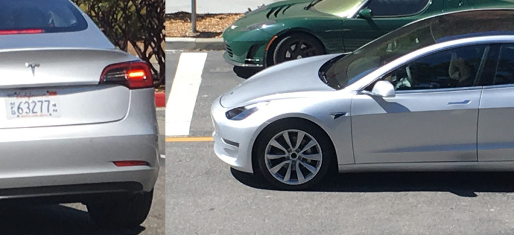 Tesla Model 3 Silver Release Candidate Leaked HD Photos