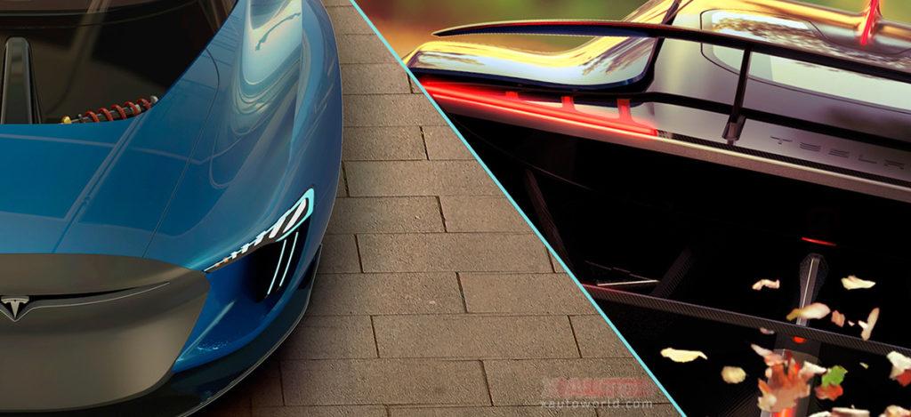 Tesla Model EXP - Unofficial Designer Concept