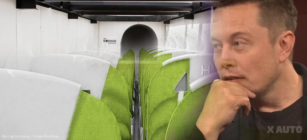 Boring Company Tunnels Hyperloop