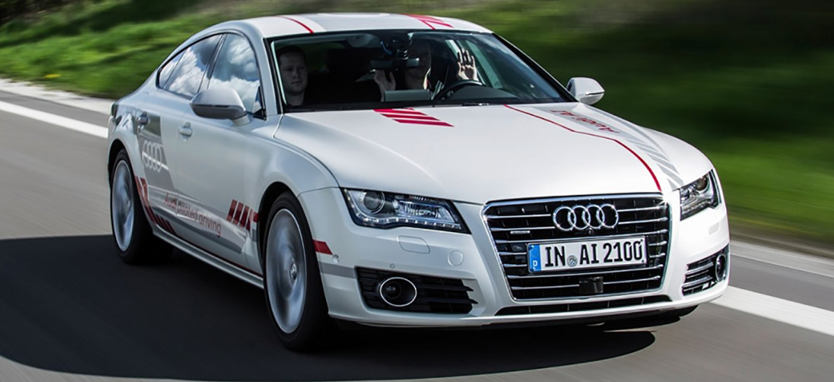 Audi Self Driving Car