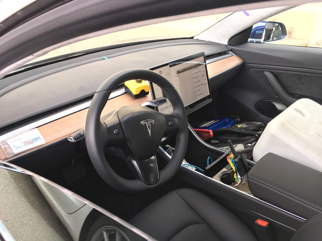 Tesla Model 3 interior - closest and clearest photo yet