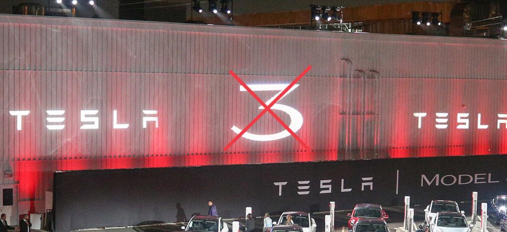 Tesla anti selling Model 3