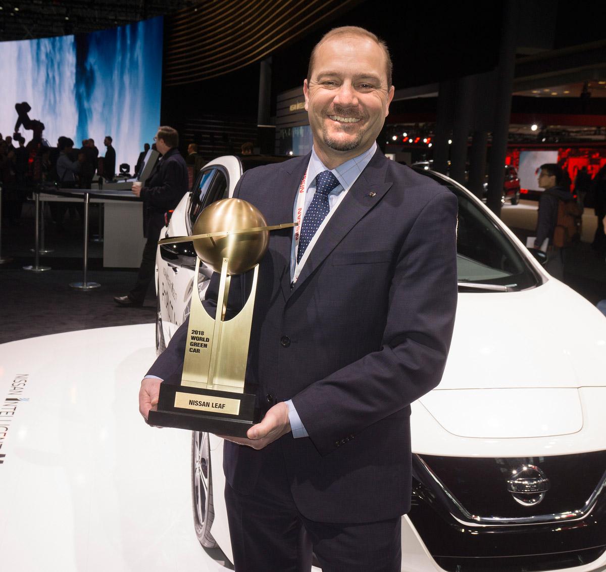 Nissan Leaf 2018 World Green Car Award