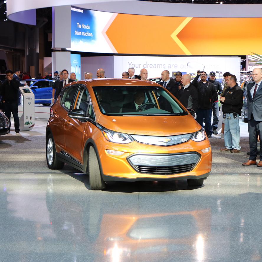 Chevrolet Bolt - New York International Auto Show 2017