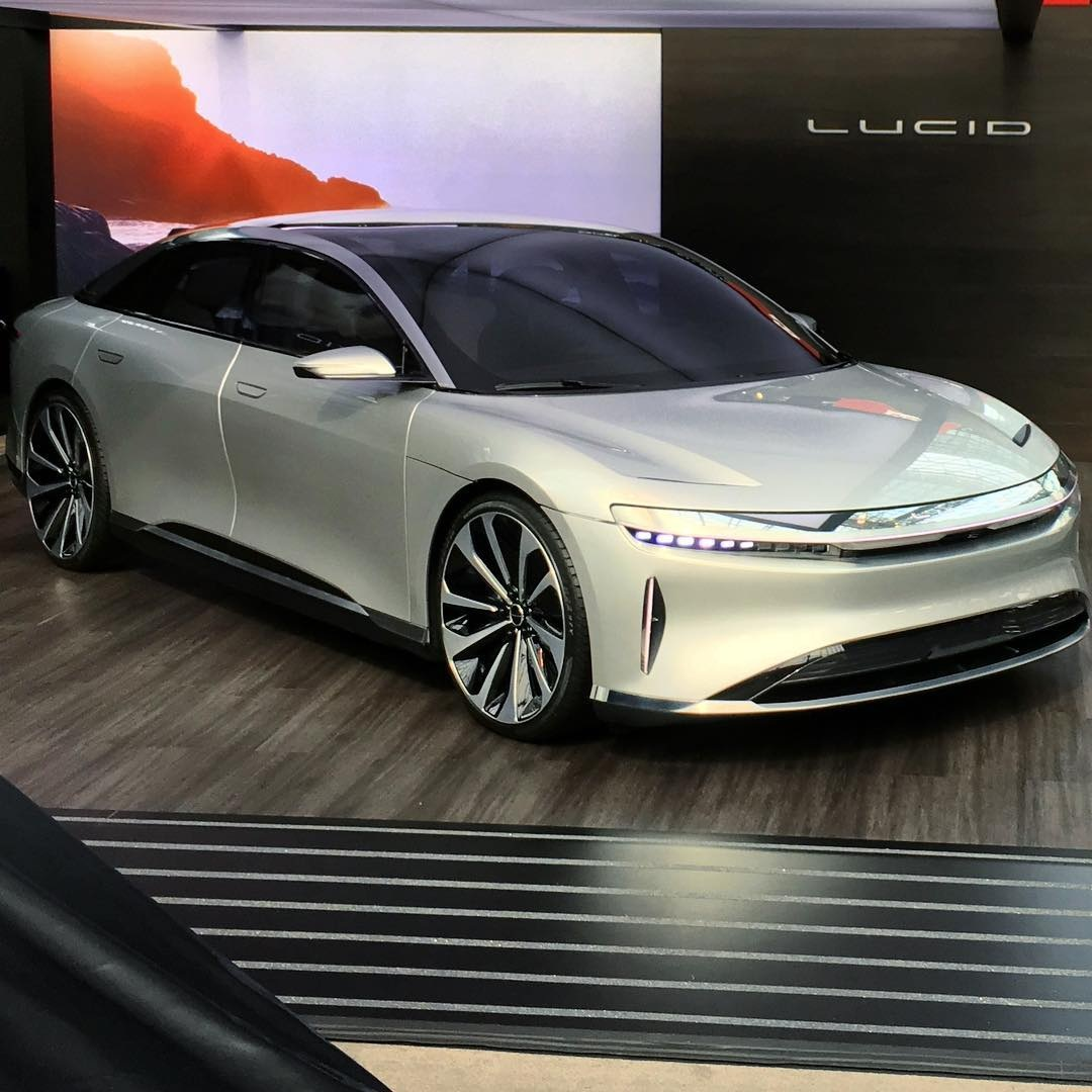 Lucid Air - New York International Auto Show 2017