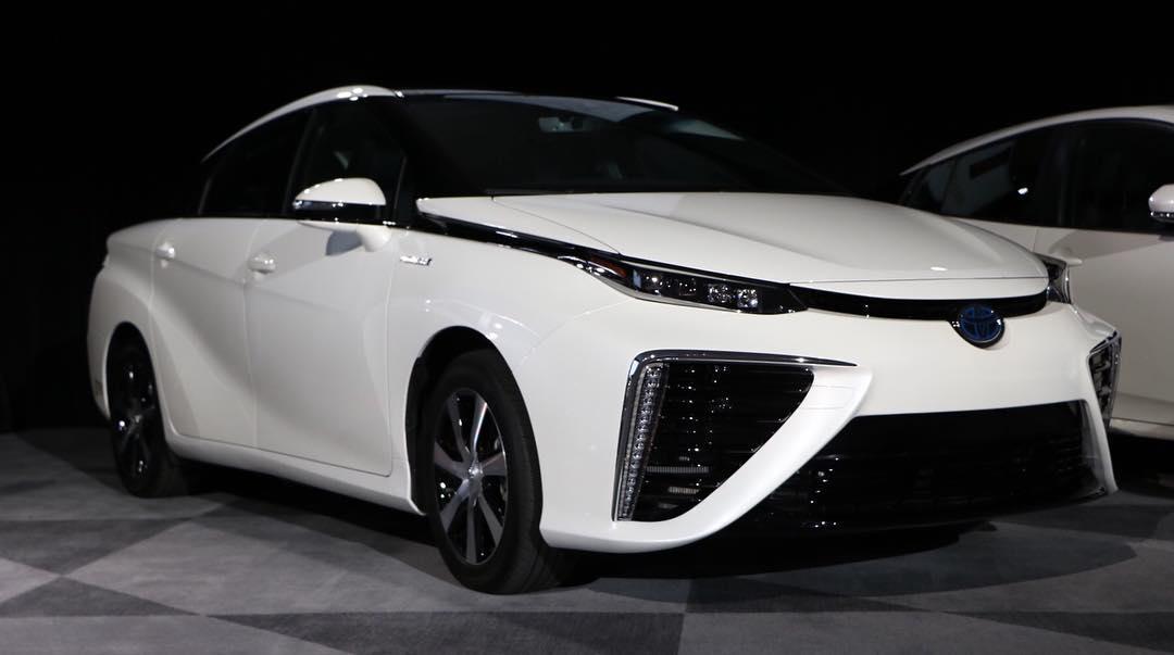 Toyota Mirai - New York International Auto Show 2017