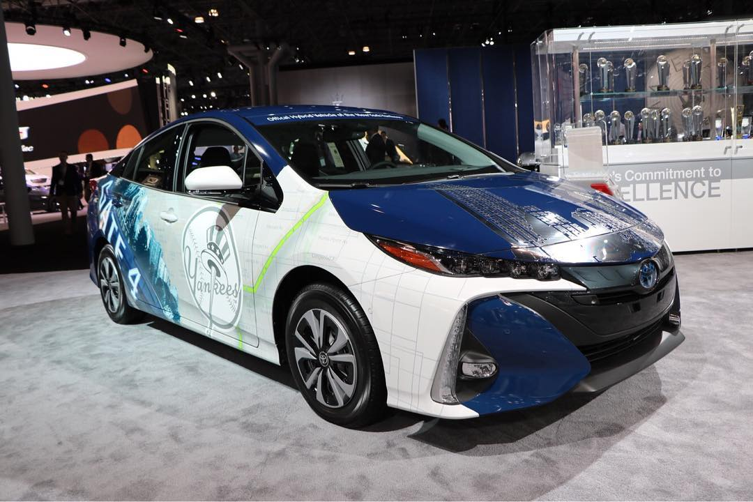 Toyota Prius Yankees - New York International Auto Show 2017