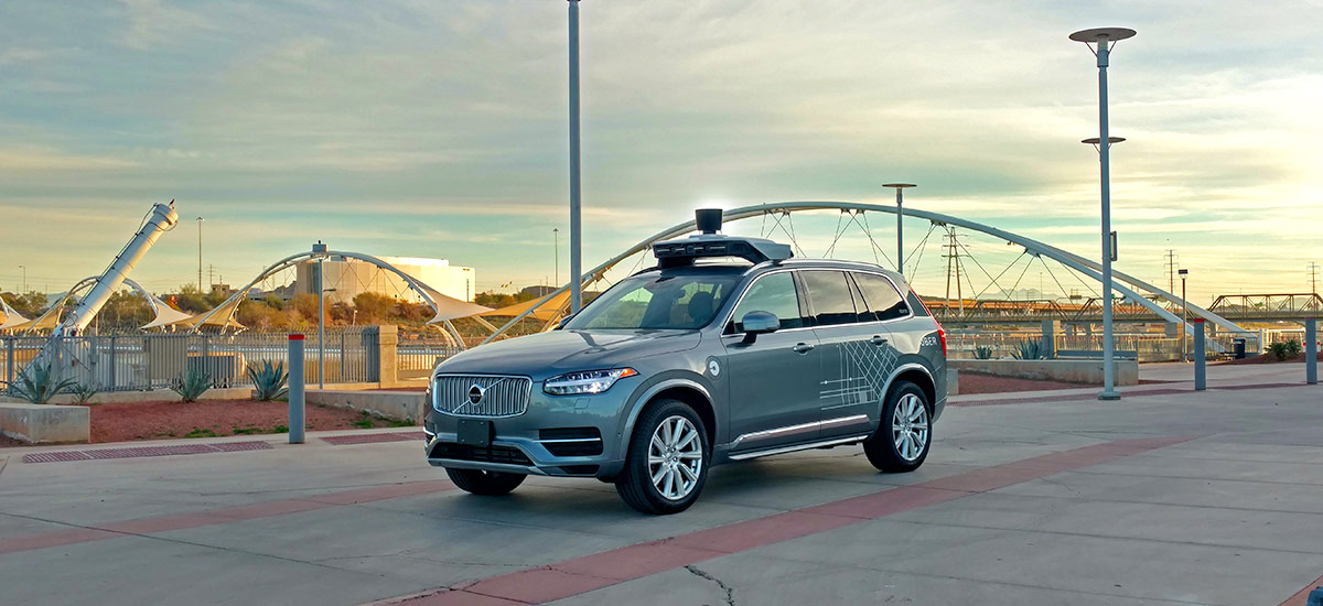 Uber's self driving vehicle hits and kills a 49 year old woman in Tempe, Arizona
