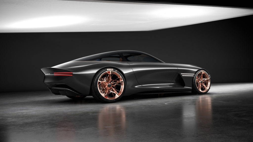 Genesis Essentia Concept - Rear Side View