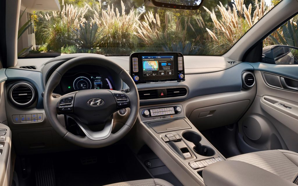 2019 Hyundai Kona Electric Interior