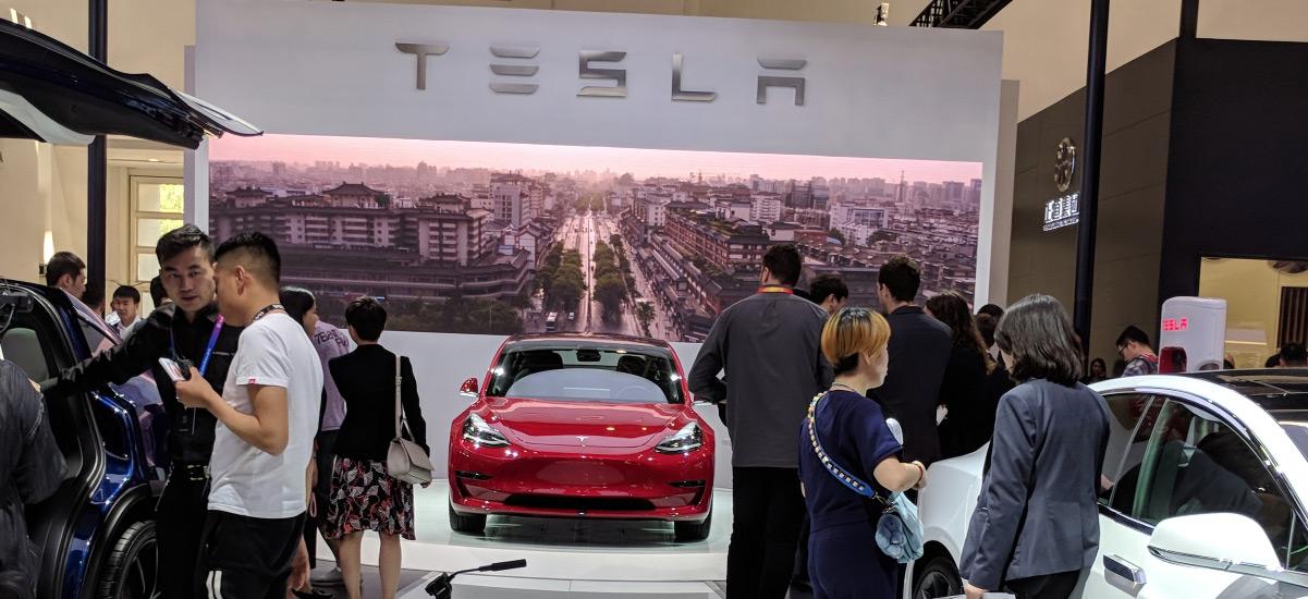 Tesla Model 3 Auto China 2018 Debut