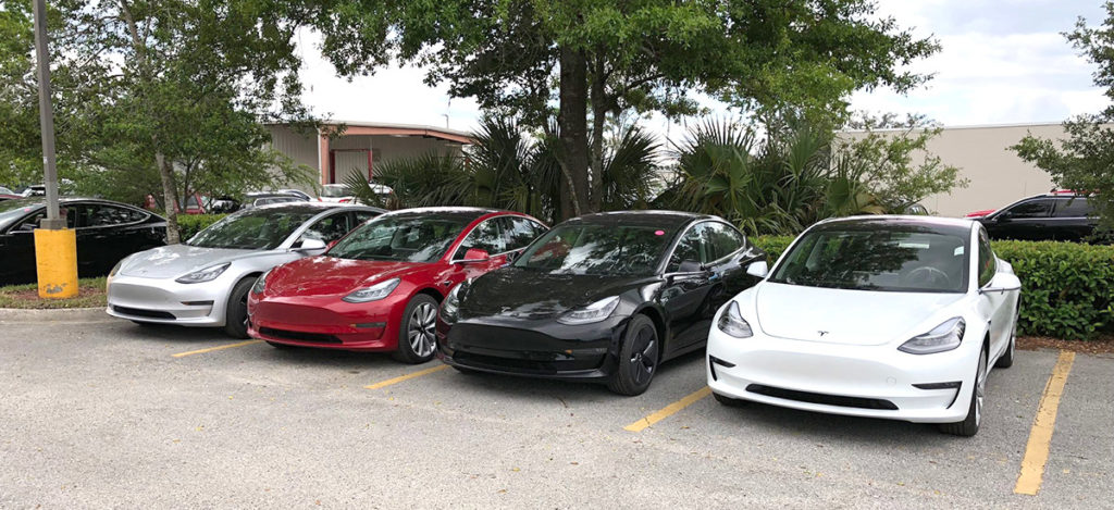 Tesla Model 3 ready for deliveries