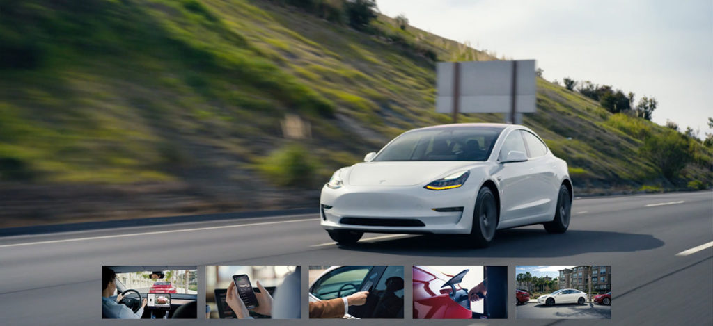 Tesla Model 3 walkthrough videos