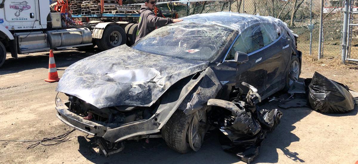 Tesla Model S safety saved life