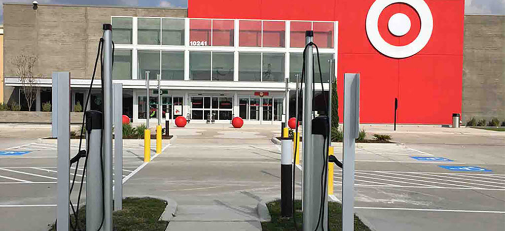 Target stores bringing EV charging stations