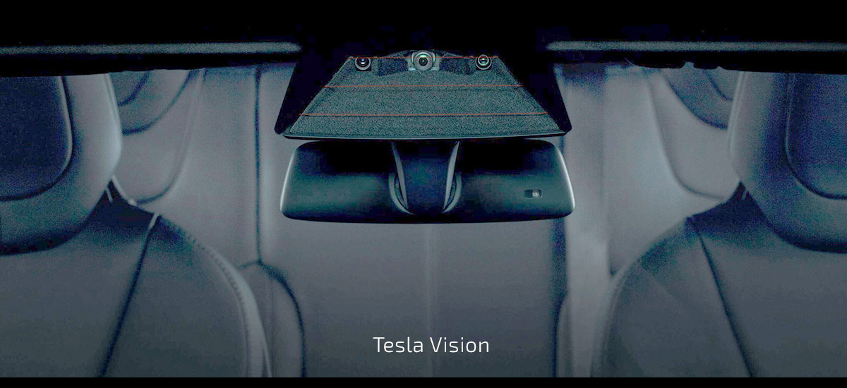Tesla forward looking cameras - Autopilot 2.0 hardware