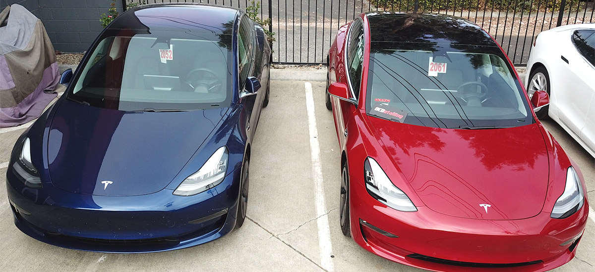 Tesla Model 3 Price Comparison Chart