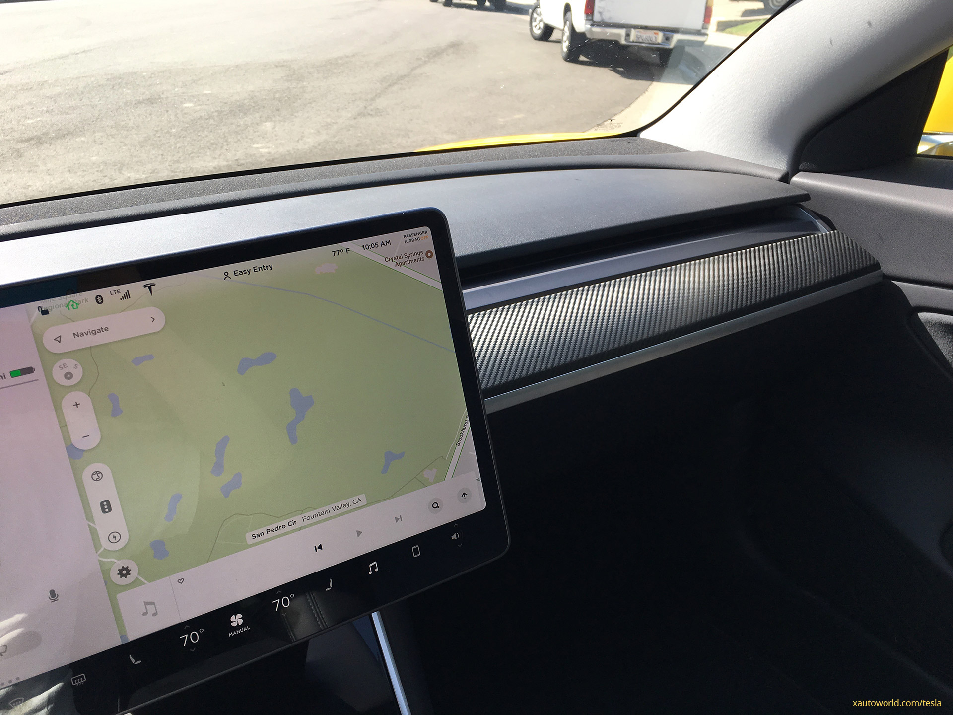 Yellow Tesla Model 3 That Rocked