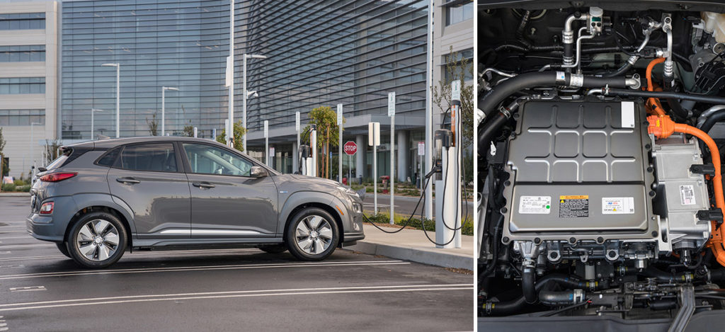 2019 Kona Electric Specs, Battery Pack, Overview