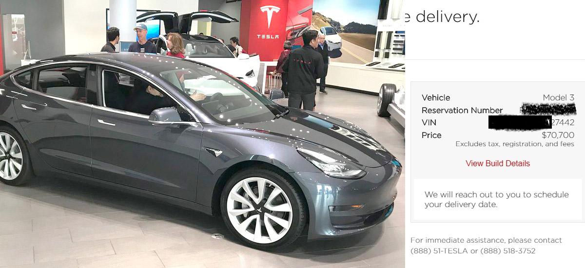 Tesla Has Started Assigning Vins To Canadian Model 3 Orders