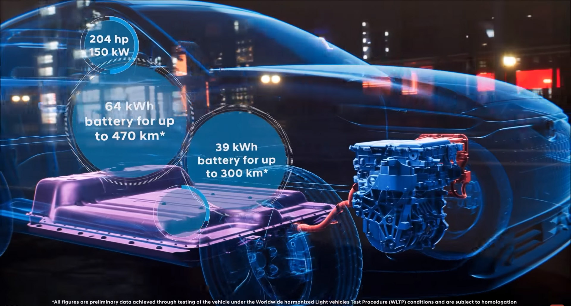 Hyundai Kona Electric Battery Pack diagram