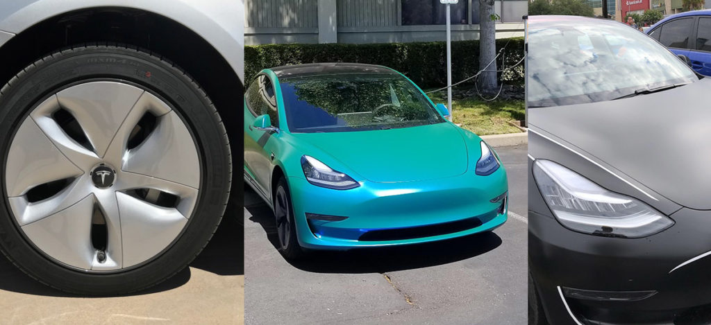 Tesla Model 3 customization extravaganza