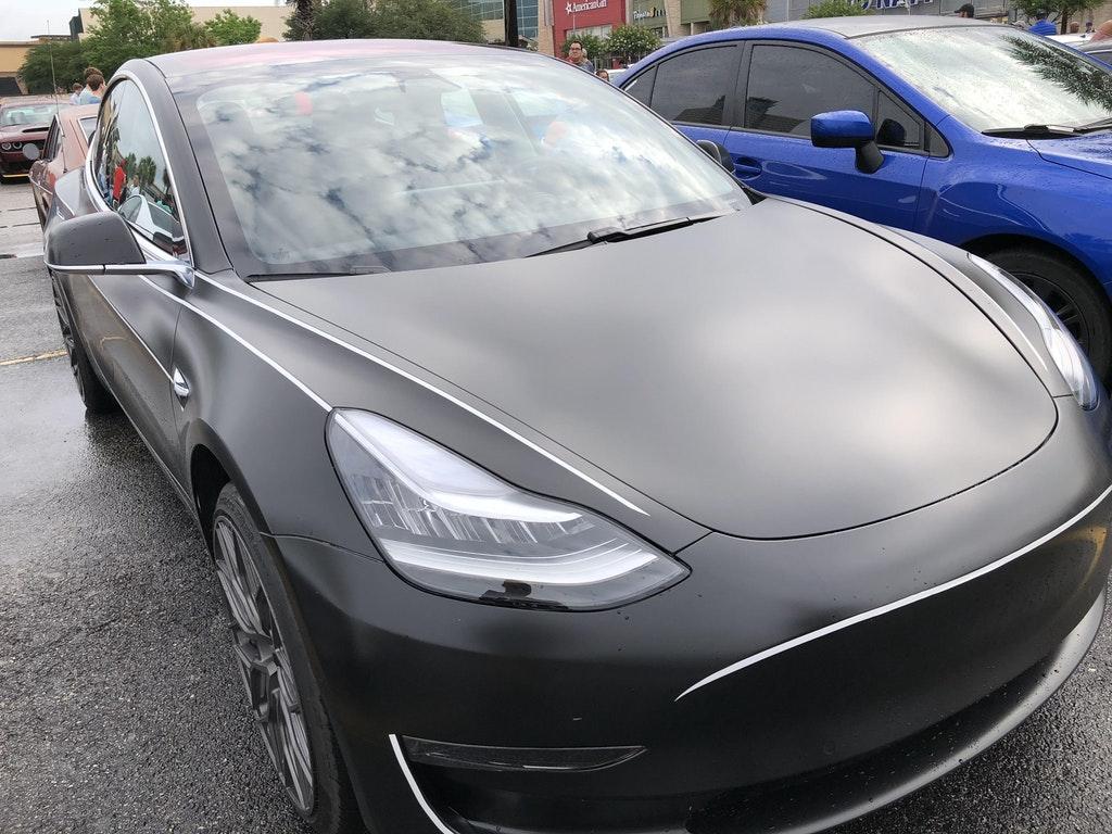 Matte Black Tesla Model 3