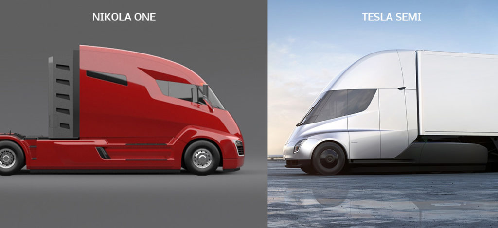Tesla Semi and Nikola One over $2 billion lawsuit