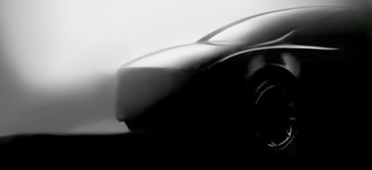 Tesla Model Y new teaser image released.