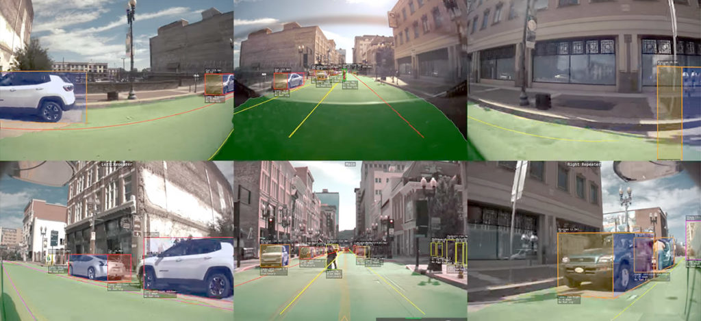 Seeing the world through Tesla Autopilot V9 Software Update