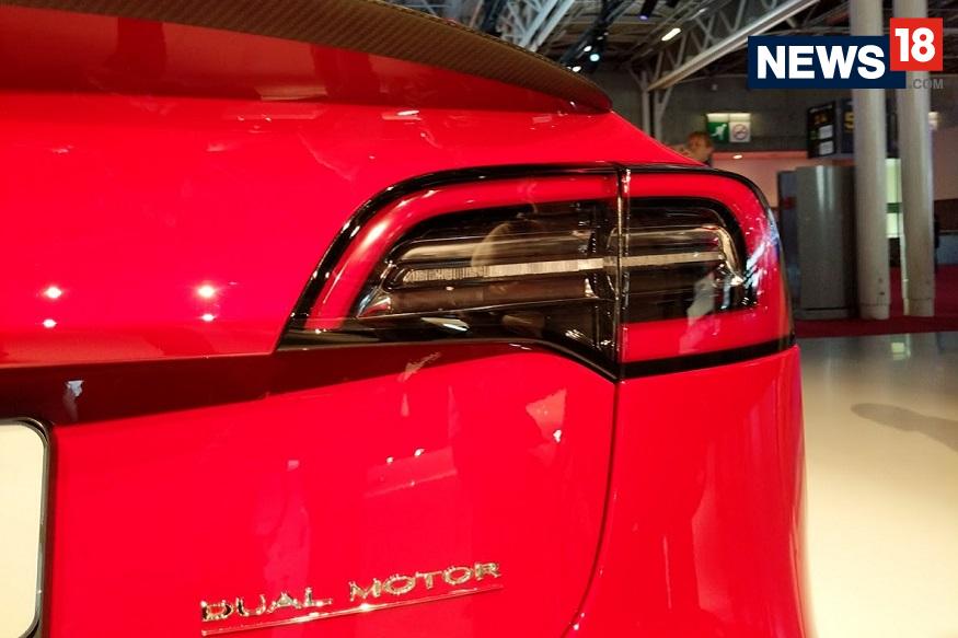 Tesla Model 3 at the 2018 Paris Motor Show - Rear View