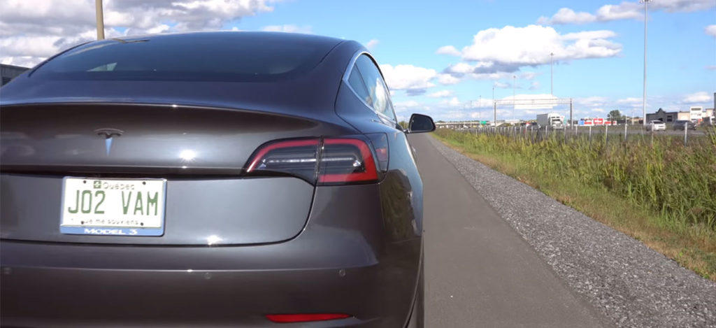 Tesla Model 3 Performance 0-60 in 3.12 Sedonds